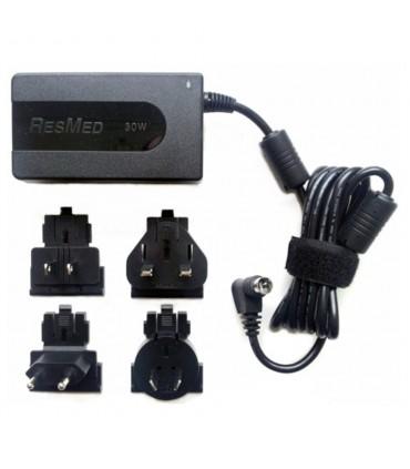 Fuente de alimentación portátil de 30W con adaptadores para S9 - ResMed