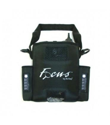 AirSep - Bolsa para Focus con bolsillos para batería